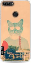Casetastic Softcover Huawei P Smart - Cool Cat