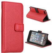Hoesje geschikt voor Apple iPod touch 5, 3-in-1 bookcase, rood