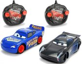 RC Cars 3 Twin Pack Lightning McQueen + Jackson Storm