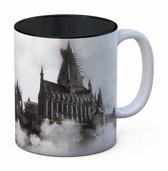 Harry Potter: Hogwarts Castle Black and White Mug