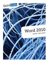 Quickgids - Word 2010