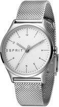 Esprit ES1L034M0055 Essential horloge - Staal - Zilverkleurig - Ø 34 mm