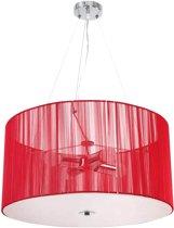 Retro plafondlamp hanglamp Ø 50 (kleurkeuze) 4 x E27 max. 40 W