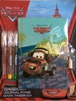 Dagboek Disney Pixar Cars met 3 gelpennen !
