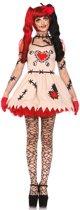 Voodoopop kostuum voor vrouwen - Verkleedkleding - Medium