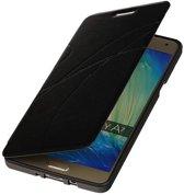 Samsung Galaxy A7 2015 A700F Hoesje Easy Booktype Zwart