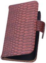Rood Slang Samsung Galaxy Core 2 Book/Wallet Case/Cover