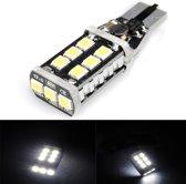 T15 2835 15SMD Canbus Error Free Car LED White Reversing Rear Light Bulb