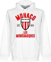 AS Monaco Established Hooded Sweater - Wit - S