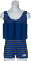 Beverly Kids UV drijfpakje Kinderen Cote d'Azur - Blauw - Maat 104