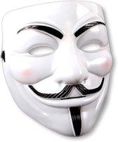 Wit V for Vendetta masker