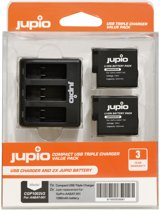 Jupio Kit: 2x Battery AABAT-001 HERO5 1260mAh + USB Dual Ch.
