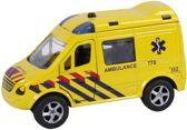 Auto pb 2-Play ambulance + licht/geluid