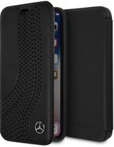 iPhone Xs/X hoesje - Mercedes-Benz - Zwart - Leer