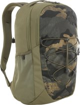The North Face Jester Rugzak Burnt Olive Green Woods Camo Print/ Burnt Olive Green