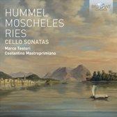 Hummel, Moscheles, Ries: Cello Sona