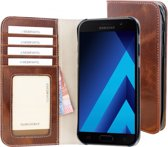 Mobiparts Excellent Wallet Case Samsung Galaxy A5 (2017) Oaked Cognac