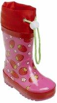 Playshoes Regenlaarzen Strawberry Maat 26/27 Roze