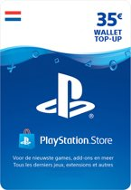 35 euro PlayStation Store tegoed - PSN Playstation Network Kaart (NL)