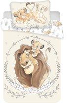 The Lion King BABY Dekbedovertrek - 100 x 135 cm - Katoen