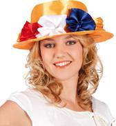 Hoed Lady - Oranje
