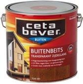 Cetabever Transparante Buitenbeits - 2,5 liter - Teak