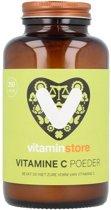 Vitaminstore - Vitamine C Poeder - 250 gram - zuurvrij - Equivalent van 220 tabletten van 1000 mg