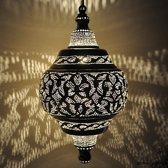 Nour Lifestyle Arabische hanglamp Basha met Oosters patroon - maat L