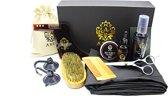 Baard Verzorging set | Baardset | Geschenk | Grooming Kit | Voor Mannen | Barbershop set | Baardgroei | Premium | Baardstyling | Abzu