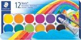 Noris verfdoos 12 kleuren