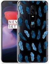 OnePlus 6 Hoesje Feathers