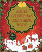 Adult Christmas Colouring Book