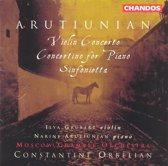 Arutiunian: Violin Concerto, etc / Orbelian, Moscow CO