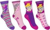 4 paar sokken van Disney Tinkerbell maat 27-30
