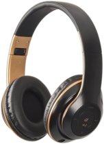FlinQ On-Ear Bluetooth Draadloze Koptelefoon - Inklapbaar - Zwart