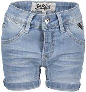 Moodstreet Meisjes Denim Shorts - Blauw - Maat 134/140