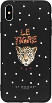 My Jewellery Design Backcover iPhone Xs Max hoesje - Le Tigre