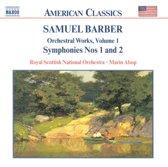Barber: Symphonies Nos. 1 & 2