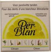 Perblan Citroen Kruidentandpoeder - 30 ml - Tandpasta