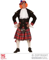 Landen Thema Kostuum | Tartan Schotse Man | One Size | Carnaval kostuum | Verkleedkleding