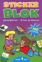 Stickerblok voor kinderen vanaf 4 jaar (3 stuks)