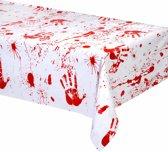 Bebloede handen tafelkleed - Feestdecoratievoorwerp