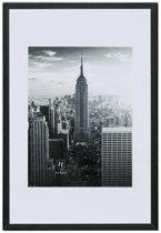 Fotolijst - Henzo - Manhattan - Fotomaat 21x30 - Zwart
