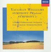 Vaughan Williams: Symphony 3 'Pastoral'; Symphony 5