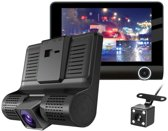 Allcam Dashcam voor auto T7 Taxi 2CH 4.0 inch - FullHD