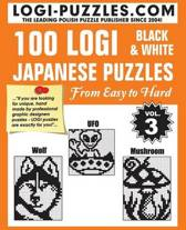 100 Logi Black & White Japanese Puzzles