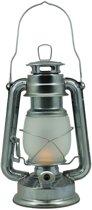 Benson Stormlantaarn - Flame effect LED - 25cm - Aluminium