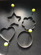 Set van 4 rvs decoratieve ei-ringen