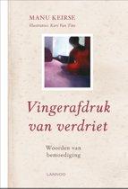 Boek cover Vingerafdruk van verdriet van Manu Keirse (Hardcover)
