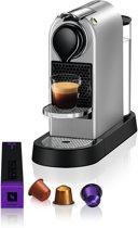 Krups Nespresso CitiZ XN740B - Koffiecupmachine - Zilver